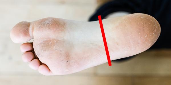 auto-massage pieds axe court