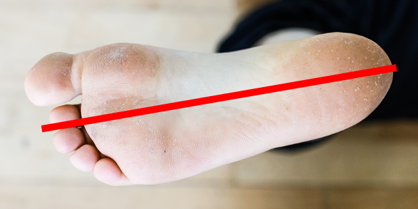 auto-massage pieds axe long