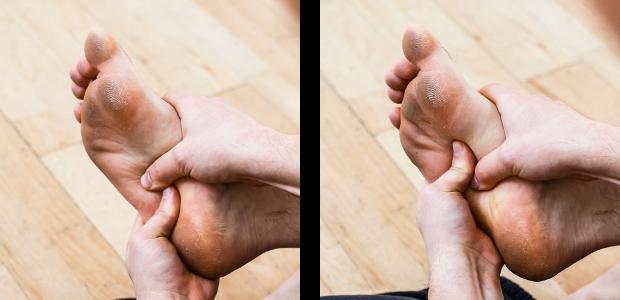 auto-massage pieds masser plante
