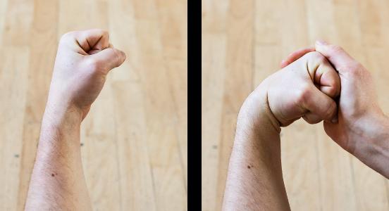 auto-massage poignets etirement clavier