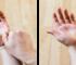 auto-massage poignets rouler petit doigt