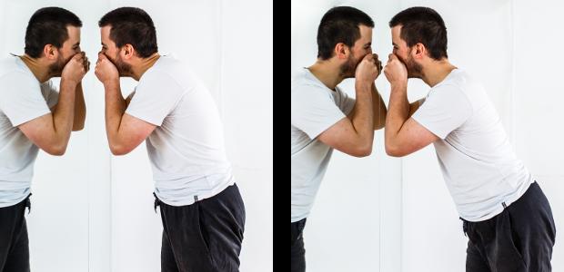 posture bouton nez