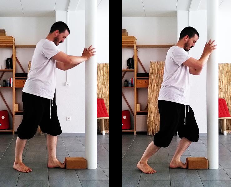 Etirement des chevilles : compartiment postérieur profond de la jambe