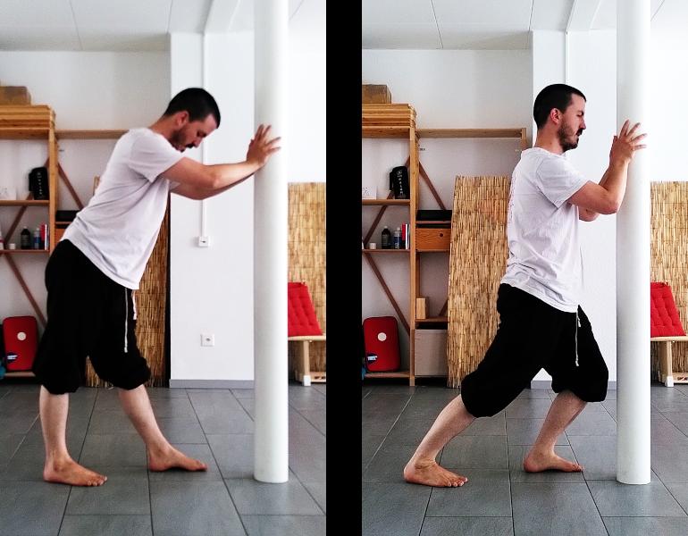Etirement des chevilles : jumeaux ou muscle gastrocnémien
