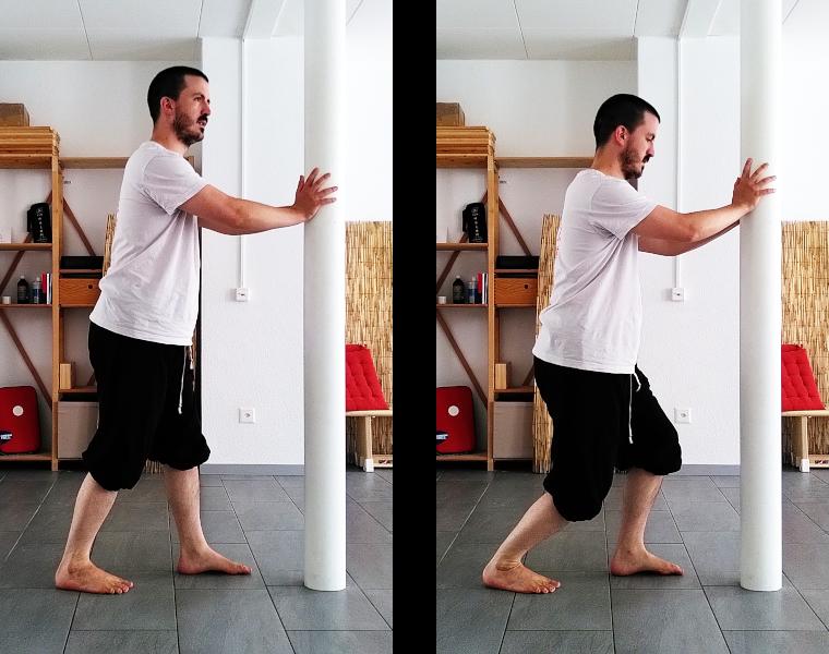 Etirement des chevilles : muscle soléaire