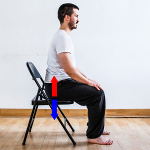 posture assise image
