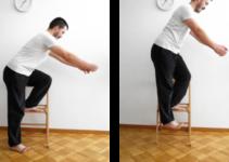 genoux step ups