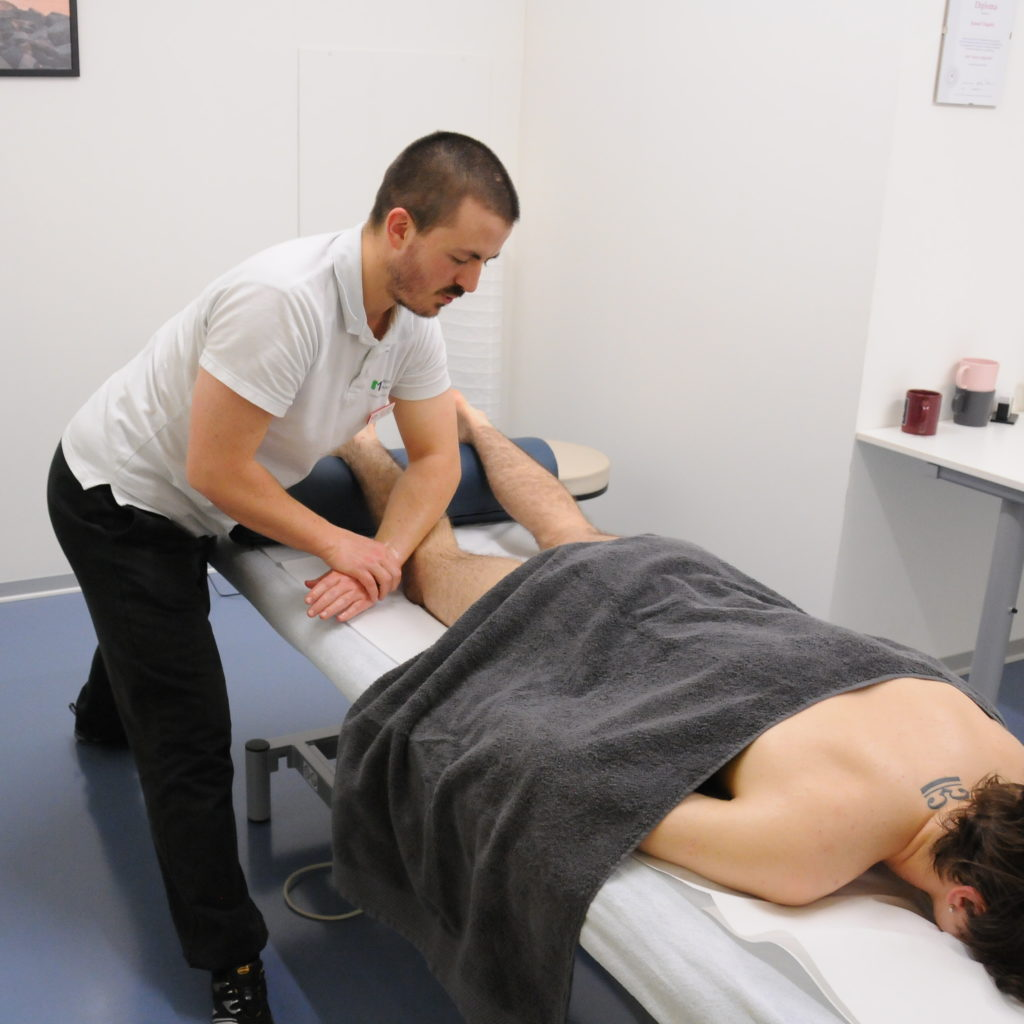 massage sportif mollet