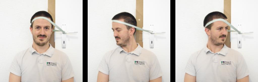 Renforcement dynamique des muscles rotateurs de la nuque